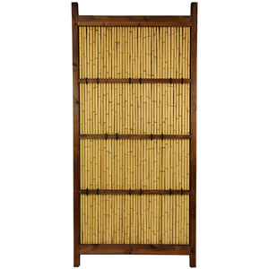 Japanese Bamboo Kumo Fence, Width - 34.5 Inches