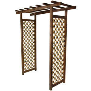 Japanese Bamboo Garden Gate Trellis, Width - 70.75 Inches