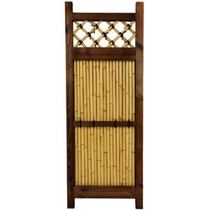 Japanese Bamboo Zen Garden Fence, Width - 17.5 Inches