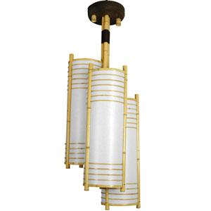 41-inch Kamakura Japanese Bamboo Hanging Lantern