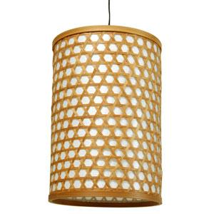 12-inch Desu Japanese Lattice Hanging Lantern