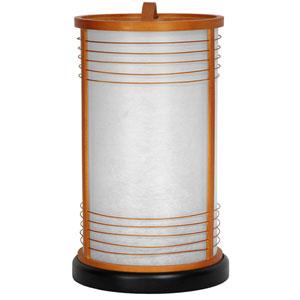 13-inch Shinjuku Japanese Shoji Lantern - Natural