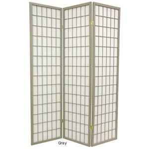 Grey Special Edition Window Pane Shoji Screen