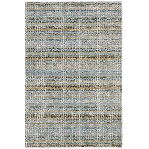 Atlas Blue Rectangular: 5 Ft. 3 In. x 7 Ft. 3 In. Rug