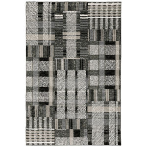 Atlas Black Rectangular: 6 Ft. 7 In. x 9 Ft. 6 In. Rug