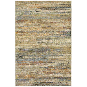 Atlas Gold Rectangular: 6 Ft. 7 In. x 9 Ft. 6 In. Rug