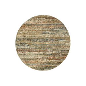 Atlas Gold Round: 7 Ft. 10 In. x 7 Ft. 10 In. Rug