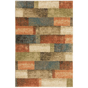Kendall Multicolor Rectangular: 3 Ft.10 In. x 5 Ft. 5 In. Rug
