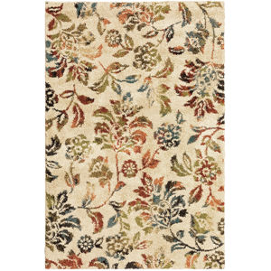 Kendall Beige Rectangular: 3 Ft.10 In. x 5 Ft. 5 In. Rug