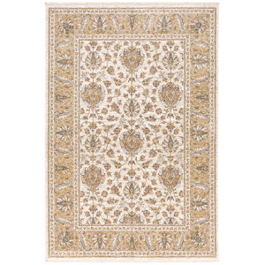 Maharaja Ivory Gold Rectangular: 5 Ft. 3 In. x 7 Ft. 6 In. Rug