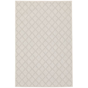 Portofino Ivory Gray Rectangular: 5 Ft. 3 In. x 7 Ft. 3 In. Rug
