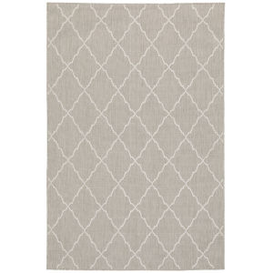 Portofino Gray Rectangular: 6 Ft. 7 In. x 9 Ft. 2 In. Rug