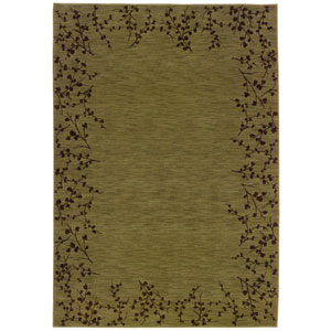 Allure Green Rectangle: 5 ft. 3 in. x 7 ft. 6 in. Rug