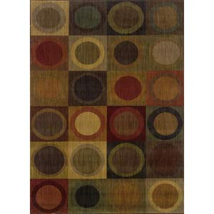 Allure Blue Rectangle: 5 ft. 3 in. x 7 ft. 6 in. Rug