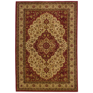 Allure Red Rectangle: 5 ft. 3 in. x 7 ft. 6 in. Rug