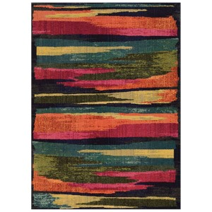 Expressions Blue Rectangular: 5 Ft. 3 In. x 7 Ft. 6 In. Rug