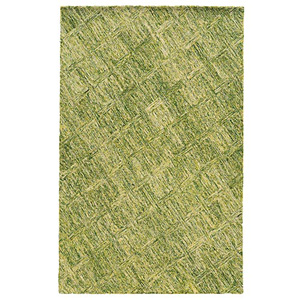 Colorscape Green Rectangular: 5 Ft. x 8 Ft. Rug