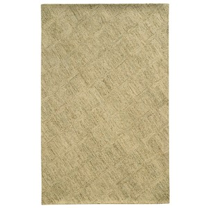 Colorscape Beige and Stone Rectangular: 5 Ft. x 8 Ft. Rug