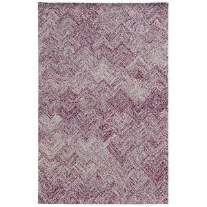 Colorscape Purple Rectangular: 5 Ft. x 8 Ft. Rug