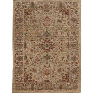 Vintage 5992J Multi-Color Rectangular: 5 Ft. 3 In. x 7 Ft. 6 In. Rug