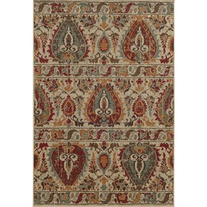 Voyage 104W0 Multi-Color Rectangular: 5 Ft. 3 In. x 7 Ft. 6 In. Rug