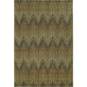 Voyage 508X0 Blue and Beige Rectangular: 5 Ft. 3 In. x 7 Ft. 6 In. Rug