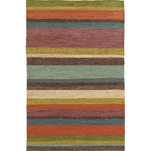 Valencia 57707 Multi-Color Rectangular: 5 Ft. x 8 Ft. Rug