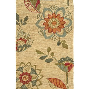 Valencia 57709 Multi-Color Rectangular: 5 Ft. x 8 Ft. Rug