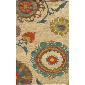 Valencia 57710 Multi-Color Rectangular: 5 Ft. x 8 Ft. Rug