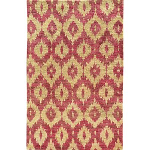 Ansley 50901 Beige and Pink Rectangular: 5 Ft. x 8 Ft. Rug