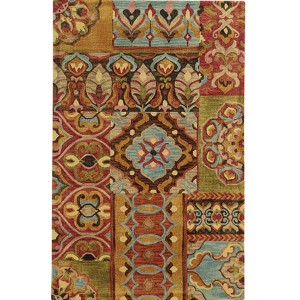 Jamison 53303 Multi-Color Rectangular: 5 Ft. x 8 Ft. Rug