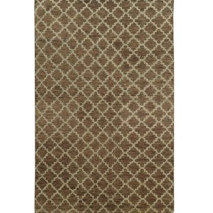 Maddox 56503 Brown and Blue Rectangular: 5 Ft. x 8 Ft. Rug