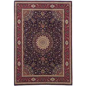 Ariana Blue Rectangle: 5 ft. 3 in. x 7 ft. 9 in. Rug