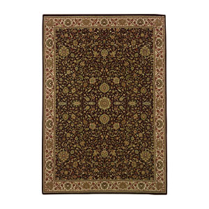 Ariana Brown Rectangle: 5 ft. 3 in. x 7 ft. 9 in. Rug