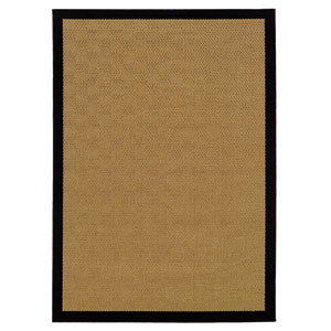 Lanai Beige Rectangle: 5 ft. 3 in. x 7 ft. 6 in. Rug