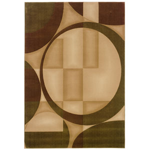 Genre Beige Rectangle: 5 ft. 3 in. x 7 ft. 9 in. Rug