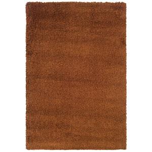 Loft Rust Rectangular: 5 Ft. 3 In. x 7 Ft. 9 In. Rug