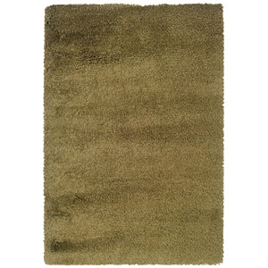 Loft Green and Gold Rectangular: 5 Ft. 3 In. x 7 Ft. 9 In. Rug