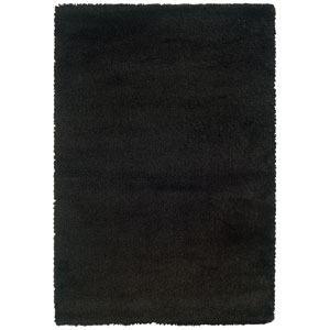 Loft Black Rectangular: 5 Ft. 3 In. x 7 Ft. 9 In. Rug