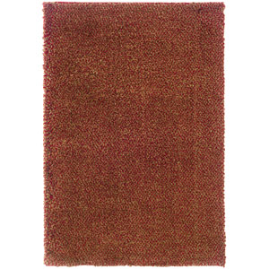 Loft Red and Gold Rectangular: 5 Ft. 3 In. x 7 Ft. 9 In. Rug