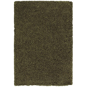 Loft Green and Brown Rectangular: 5 Ft. 3 In. x 7 Ft. 9 In. Rug