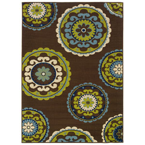 Caspian Round: 7 Ft. 10 In. Rug