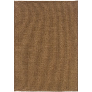 Karavia Tan Rectangular: 6 Ft. 7 In. x 9 Ft. 6 In. Rug