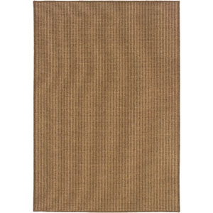 Karavia Tan Vertical Rectangular: 6 Ft. 7 In. x 9 Ft. 6 In. Rug