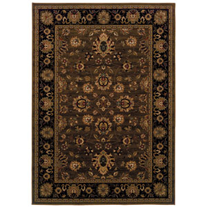 Cambridge Green Rectangular: 5 Ft. 3 In. x 7 Ft. 6 In. Rug