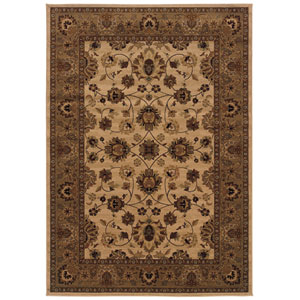 Cambridge Ivory Rectangular: 5 Ft. 3 In. x 7 Ft. 6 In. Rug