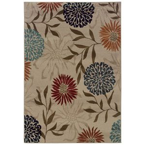 Adrienne Tan Rectangular: 5 Ft. 3 In. x 7 Ft. 6 In. Rug