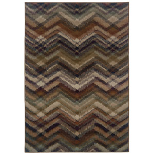 Adrienne Brown Rectangular: 5 Ft. 3 In. x 7 Ft. 6 In. Rug