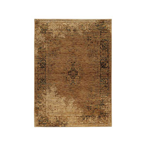 Andorra Gold Rectangular: 1 Ft. 10-Inch x 3 Ft. 2-Inch  Rug