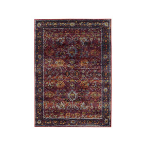 Andorra Red Rectangular: 1 Ft. 10-Inch x 3 Ft. 2-Inch  Rug